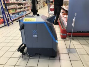 робот поломоечная машина MARK1